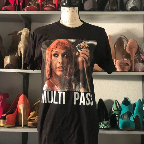 6318753d The Fifth Element Tops   Multi Pass Graphic Tee   Poshmark